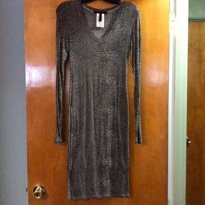 Knit tunic dress